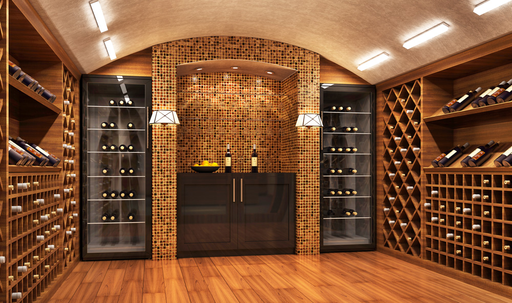Home Wine Cellar Design and Installation in Charlotte - All Temp Co